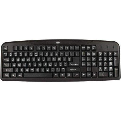 Digital Innovations 4250400 Easy-View Keyboard - PCMatrix Center