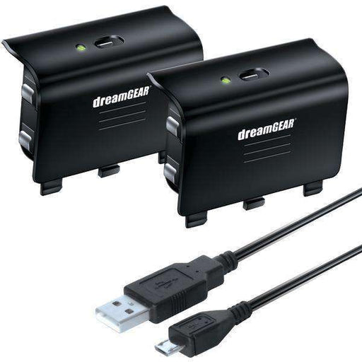 dreamGEAR DGXB1-6608 Charge Kit for Xbox One - PCMatrix Center