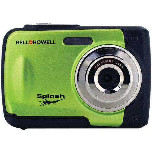Bell+Howell WP10-G 12.0-Megapixel WP10 Splash Waterproof Digital Camera (Green) - PCMatrix Center