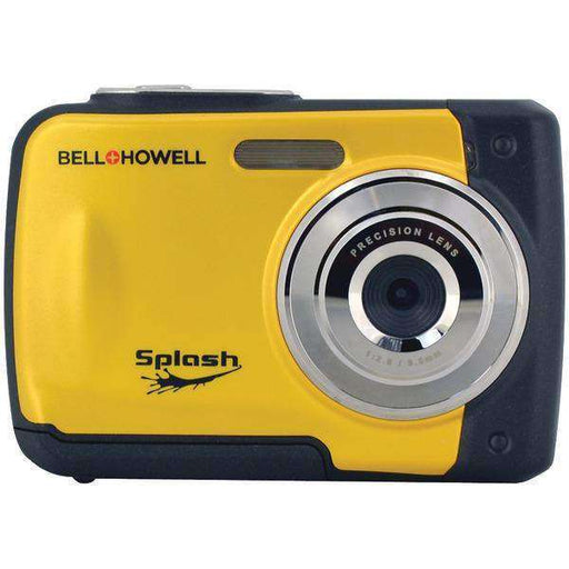 Bell+Howell WP10-Y 12.0-Megapixel WP10 Splash Waterproof Digital Camera (Yellow) - PCMatrix Center