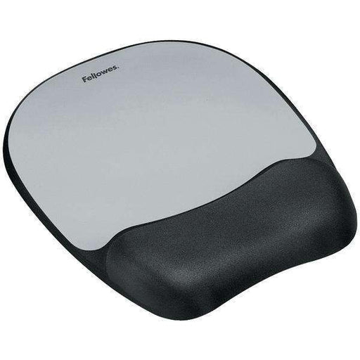 Fellowes 9175801 Memory Foam Mouse Pad with Wrist Rest - PCMatrix Center