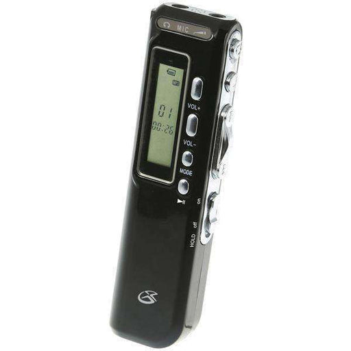 GPX(R) PR047B Digital Voice Recorder - PCMatrix Center