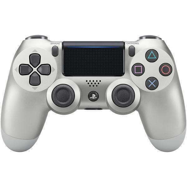 Sony(R) 3001541 PlayStation(R)4 DUALSHOCK(R)4 Wireless Controller (Silver)