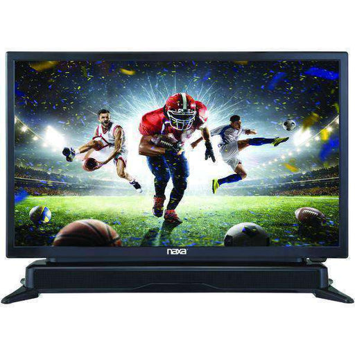 "Naxa(R) NTD-2460 24"" LED TV with DVD Player & Built-in Soundbar - PCMatrix Center"