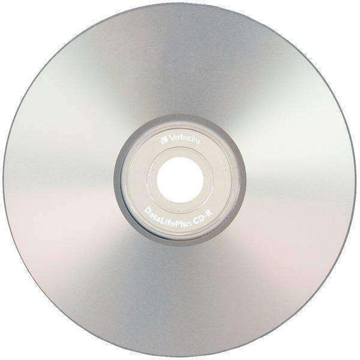 Verbatim(R) 94892 80-Minute-700MB 52x DataLifePlus(R) Silver Inkjet Printable CD-Rs, 50-ct Spindle - PCMatrix Center