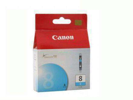Canon Usa Cli-8 Cyan Ink Tank - For Canon Pixma Pro9000, Pro9000 Mark Ii, Ip6700d, Ip6600d - PCMatrix Center