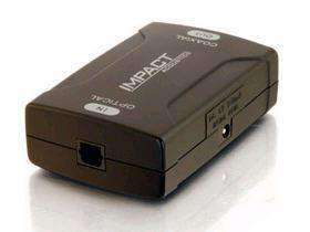 NEW (S)Toslink to Coax Digital Audio Converter - PCMatrix Center