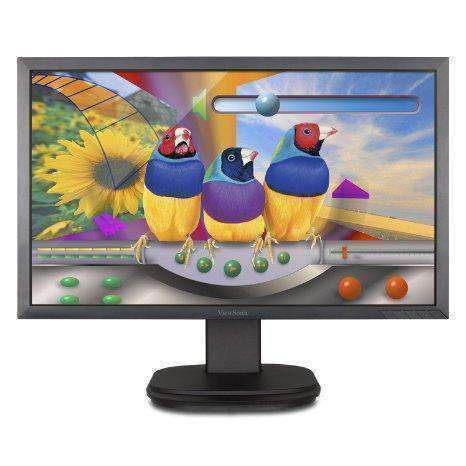 Viewsonic 24in (23.6in  Viewable) Full Hd Ergonomic Led Monitor With Advanced Connectivity - PCMatrix Center