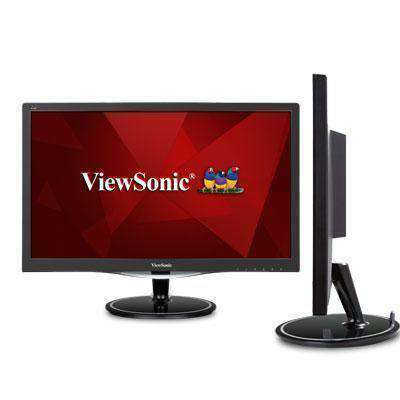 Viewsonic 24 (23.6 Viewable) Full Hd 1080p Black Monitor