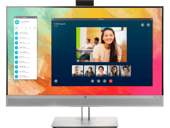 Hp Inc. Hp Elitedisplay E273m/ 27in Video Conferencing Display/bang & Olufsen/pop-up Hd