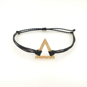 Elemental Triangle in Gold