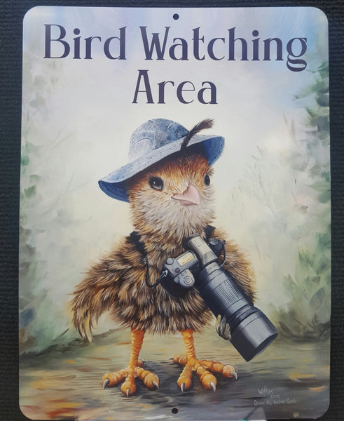Birdwatching Area Sign.