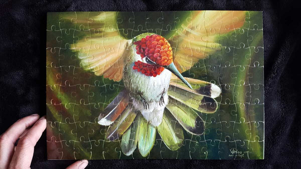 Angel in Flight Signed Puzzle
