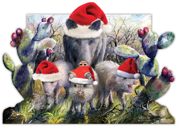 Javelina Christmas Cards