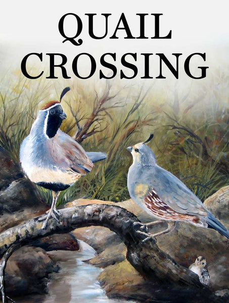 Quail Crossing Sign