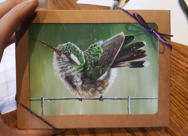 Hummingbird Thank You Cards, Box Set.  Perfect for all occasions!