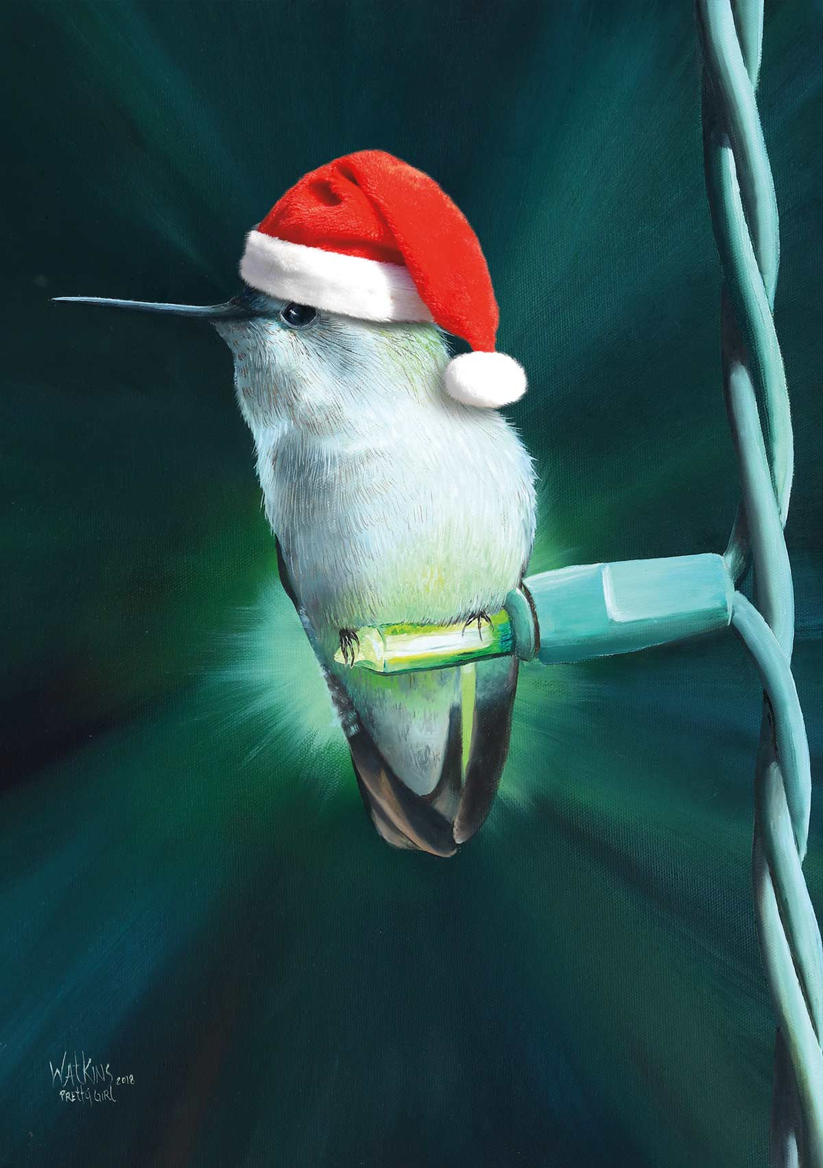 BRAND NEW! Hummingbird Christmas Cards