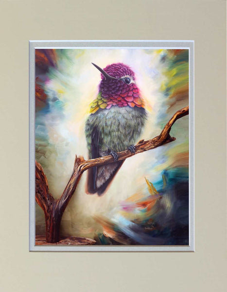 """The Guardian"" Matted Print"