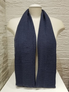 Crepe - Navy Blue