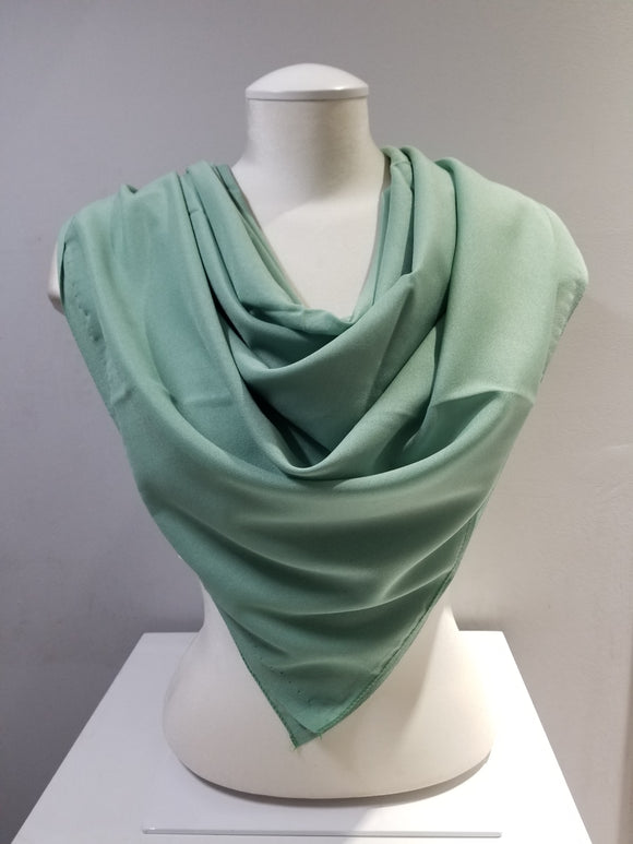 Basic Chiffon Square- Green
