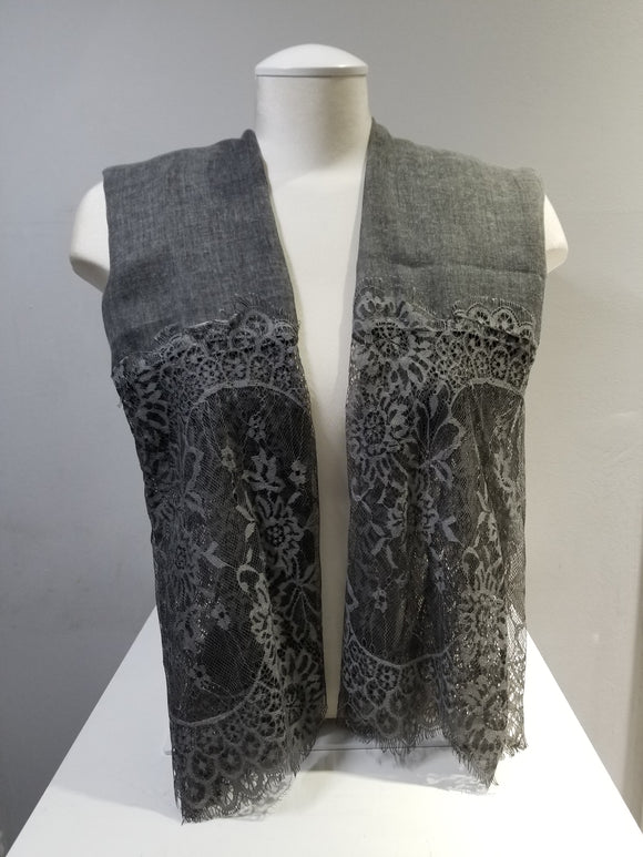Hazy Lace- Grey