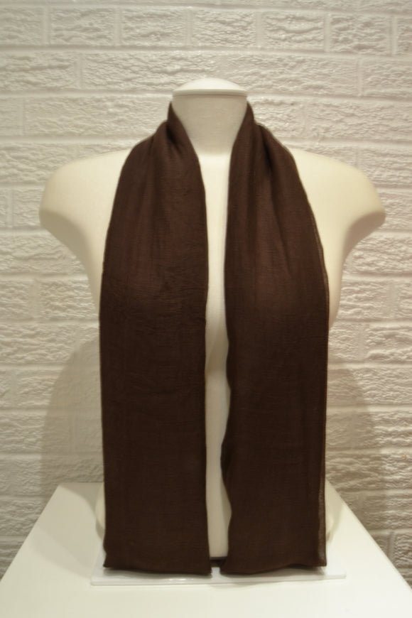 Basic Cotton - Chocolate Brown