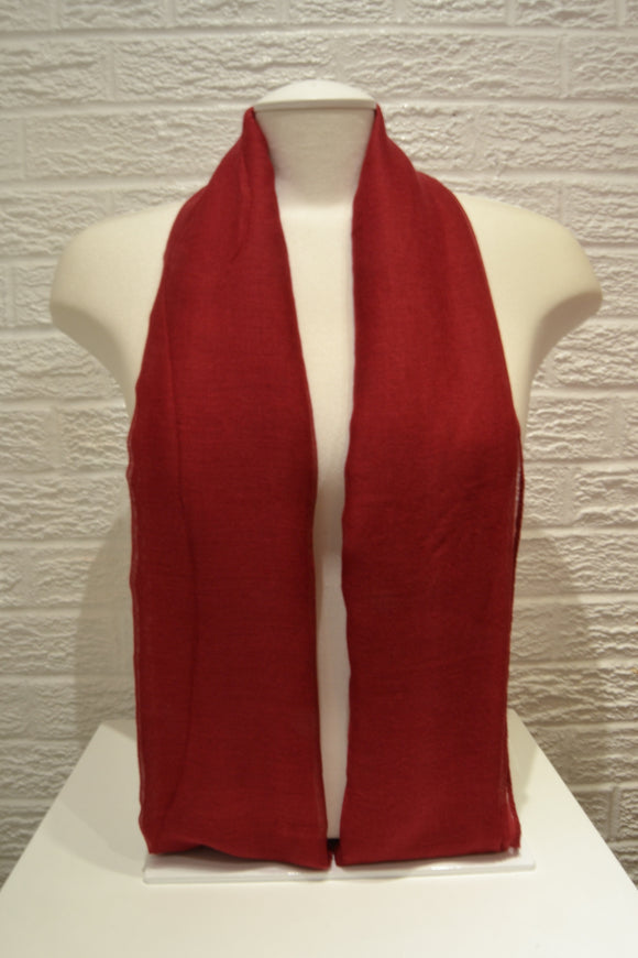 Basic Cotton- Scarlet Red