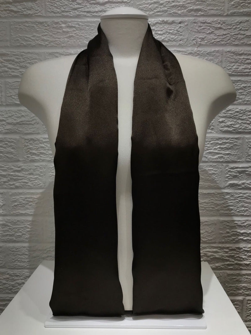Satin Wrap- Black