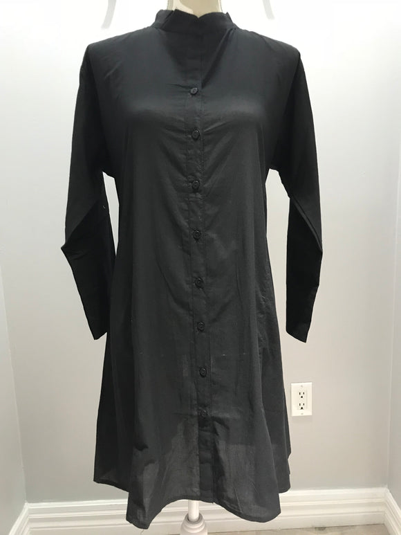 Cotton Tunic - Black