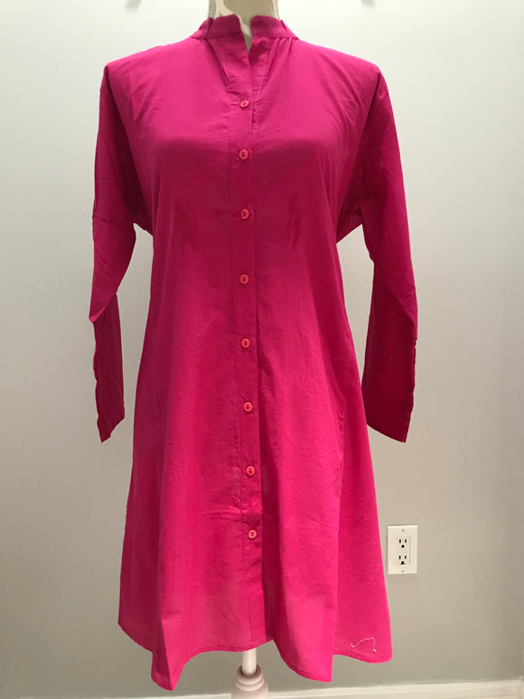 Cotton Tunic - Pink
