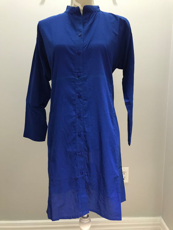 Cotton Tunic - Blue