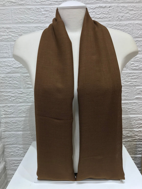 Plush Cotton- Chocolate Brown