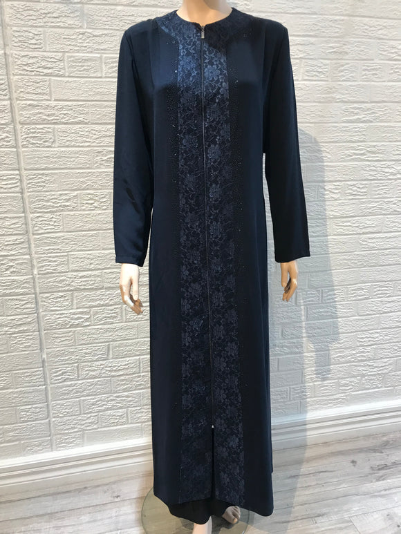 Turkish Abaya- Celeste