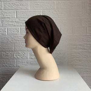 Tube Style Undercap - Dark Brown