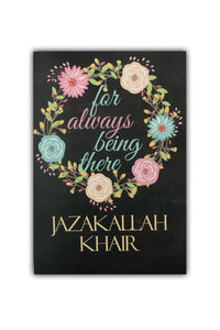 JazakAllah Khair Card