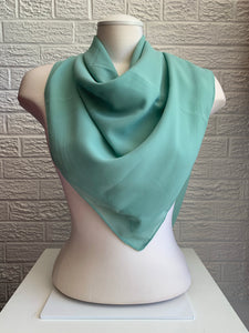 Basic Chiffon Square - Mint Green