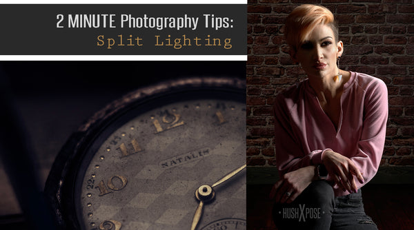 How to Create Split Portrait Lighting in Under Two Minutes