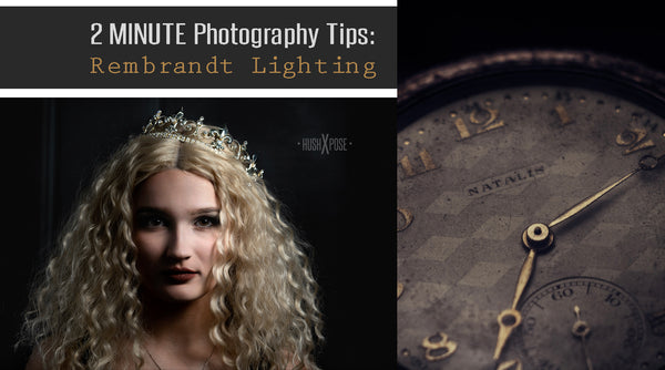 How to Create Rembrandt Portrait Lighting in Under Two Minutes