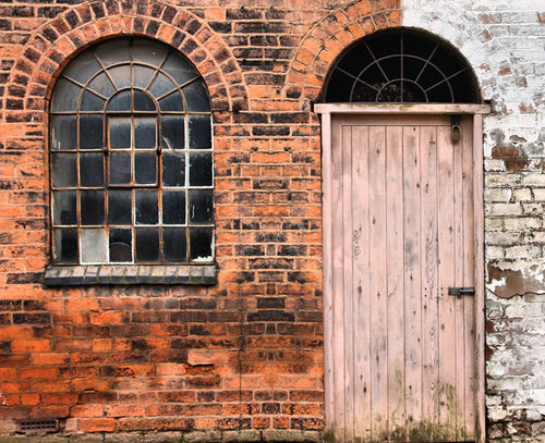 Arched Window and Door Backdrop