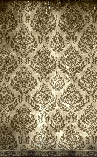 Manor House Damask Backdrop