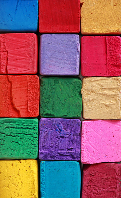 Coloured Blocks Backdrop