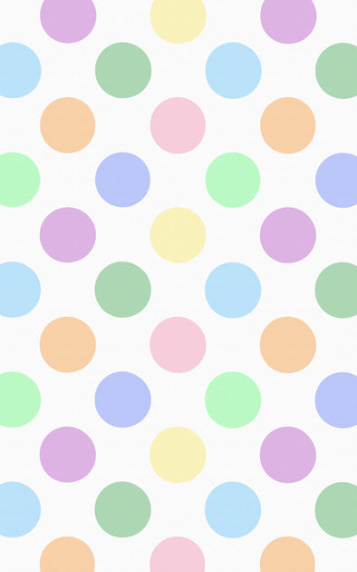 Coloured Dots Backdrop
