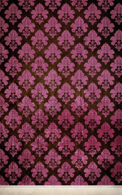 Damask Dark Pink • Wallpapers