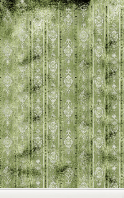 Distressed Wallpaper Green • Wallpapers