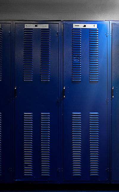 Dramatic Lockers Backdrop