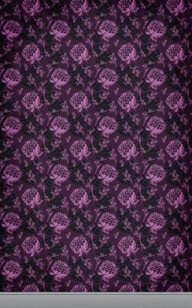 Floral Wallpaper Pink• Floral Backdrops
