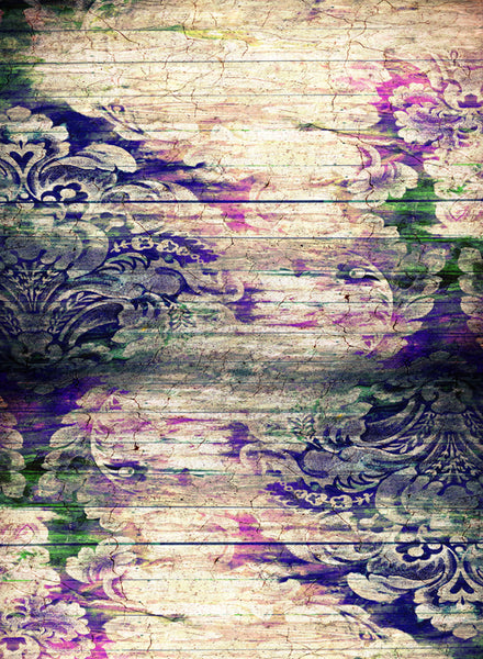 Floral Wood • Floral Backdrops