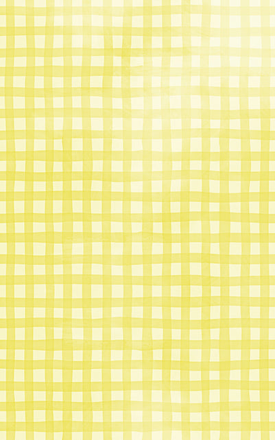 Gingham Yellow Backdrop