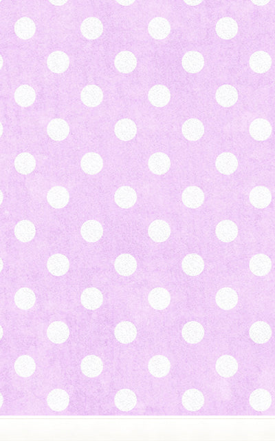 Large Polka Dot Purple • Children