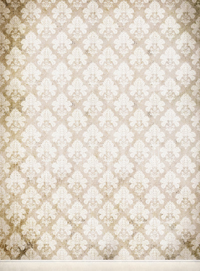 RTS • Damask Distressed White